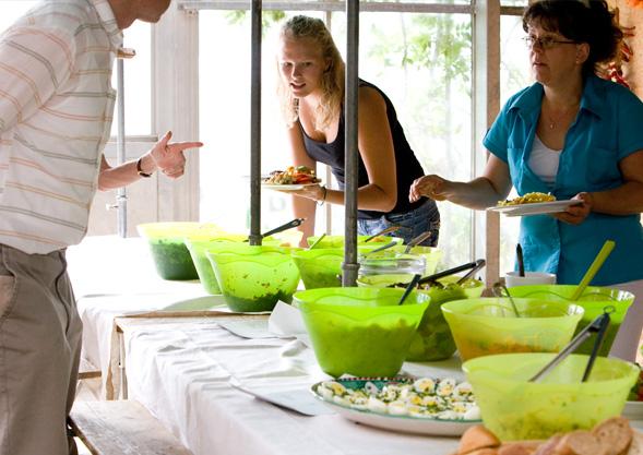 Mit unserer gewohnt guten Küche