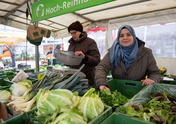 Abhol Service Bio Gemüse bei Hoch Reinhard Fischingen